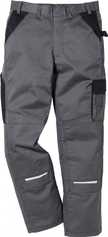 Fristads Icon Cotton Trousers 100813 (Grey/Black)